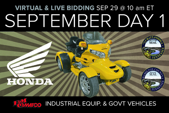 September Monthly Day 1 Auction