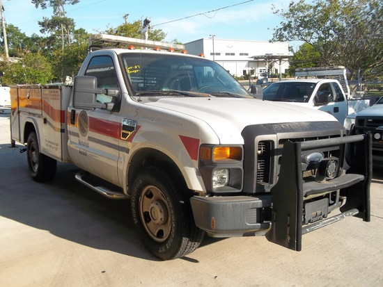 2008 Ford F350 Tool Body Truck