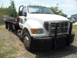2003 Ford F650 Flat Bed Wrecker