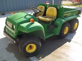 John Deere Gator 6x4 with Dump Bed
