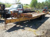 Southeastern 23-Foot Equipment Trailer - Parts Only, No Paperwork