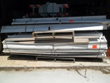 Lot of 2 Piles of Fluorescent Light Fixtures for 4-Foot Bulbs