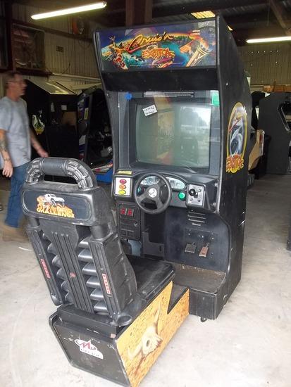 Midway Nintendo Cruis'n Exotica Driving Arcade Game