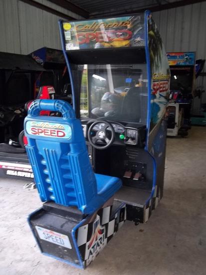 Atari California Speed Driving Arcade Game