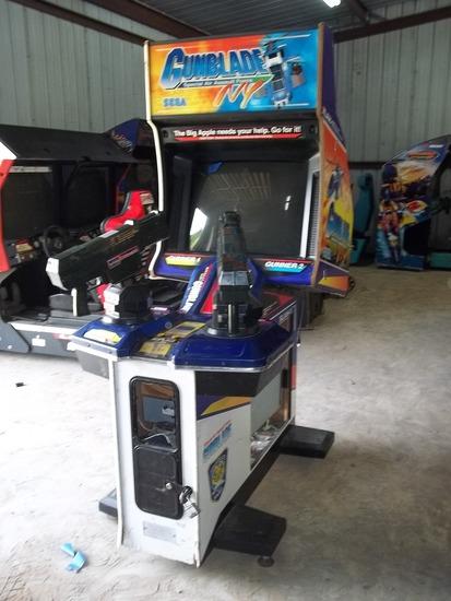 Sega Gunblade Special Air Assault Force NY Arcade Game