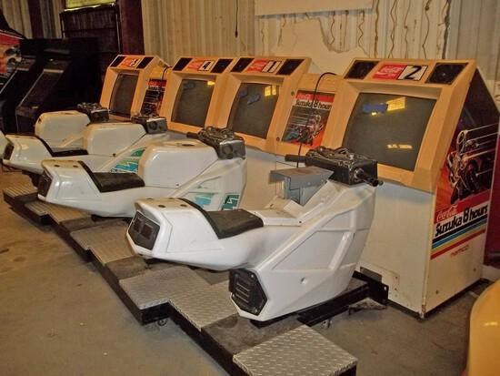 Namco Coca-Cola Suzuka 8-Hours Motorcycle 4-Player Arcade Game