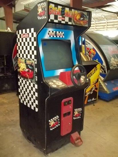 Kaneko Great Rally 2 Driving Arcade Game