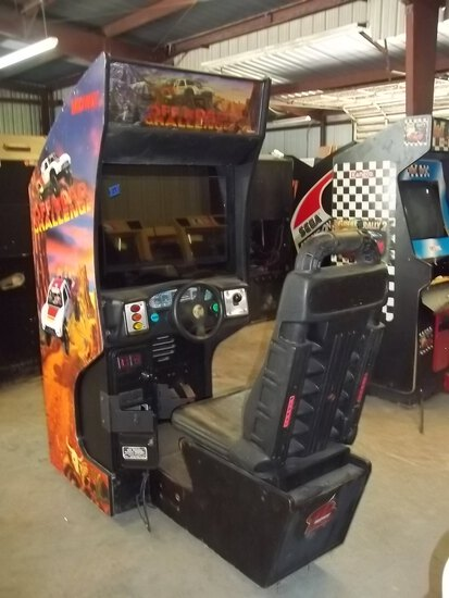 Midway Off Road Challenge Driving Arcade Game