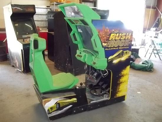 San Francisco Rush the Rock Driving Arcade Game