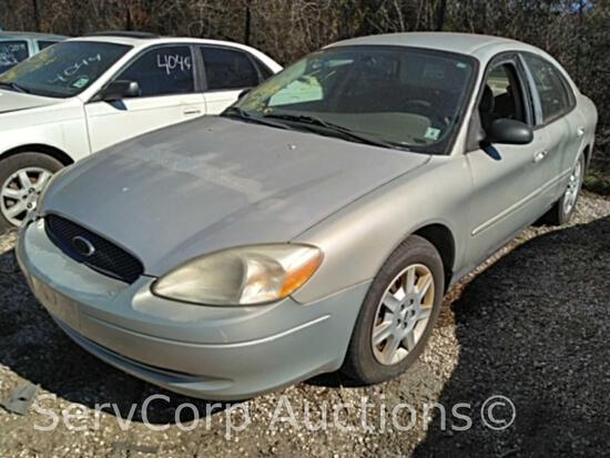2006 Ford Taurus Passenger Car, VIN # 1FAFP53U76A247137 Reconstructed