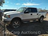 2005 Ford F-150 Pickup Truck, VIN # 1FTPW14505KD37210 Salvage