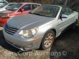 2008 Chrysler Sebring Passenger Car, VIN # 1C3LC55R78N110166