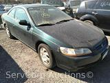 1999 Honda Accord Passenger Car, VIN # 1HGCG3255XA013142