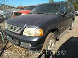 2004 Ford Explorer Multipurpose Vehicle (MPV), VIN # 1FMZU63K74UC35887