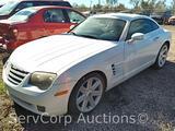 2004 Chrysler Crossfire Passenger Car, VIN # 1C3AN69L54X016718
