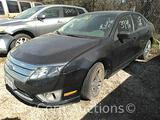 2012 Ford Fusion Passenger Car, VIN # 3FAHP0GA7CR118117