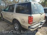2000 Ford Expedition Multipurpose Vehicle (MPV), VIN # 1FMEU15L7YLC00396