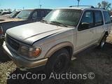 1999 Ford Explorer Multipurpose Vehicle (MPV), VIN # 1FMZU32E8XUB99268