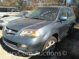 2005 Acura MDX Multipurpose Vehicle (MPV), VIN # 2HNYD187X5H553590