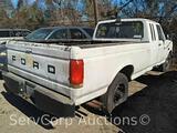 1991 Ford F-250 Pickup Truck, VIN # 1FTHX25H3MKA22576