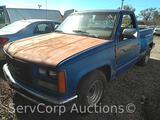 1988 GMC C1500 Pickup Truck, VIN # 1GTDC14H3JZ531947