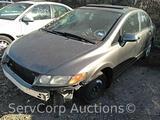 2006 Honda Civic Passenger Car, VIN # 1HGFA16876L014626