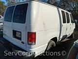 2001 Ford Econoline Van, VIN # 1FTRE14211HA55408