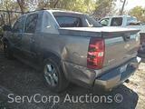 2007 Chevrolet Avalanche Pickup Truck, VIN # 3GNEC12057G172134