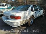 1995 Chevrolet Caprice Classic Passenger Car, VIN # 1G1BL52W1SR119228