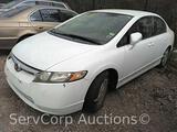 2007 Honda Civic Passenger Car, VIN # JHMFA36217S030705