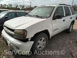 2002 Chevrolet TrailBlazer Multipurpose Vehicle (MPV), VIN # 1GNDS13S522319195