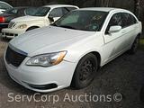 2013 Chrysler 200 Passenger Car, VIN # 1C3CCBABXDN640410 Salvage