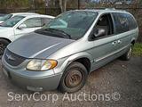 2003 Chrysler Town & Country Van, VIN # 2C8GP64L83R171153
