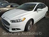 2014 Ford Fusion Passenger Car, VIN # 3FA6P0K99ER270939