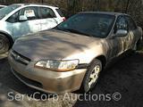 2000 Honda Accord Passenger Car, VIN # 1HGCG5674YA111765