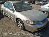 1998 Honda Accord Passenger Car, VIN # 1HGCG5652WA007903 Hail Damaged