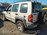 2004 Jeep Liberty Multipurpose Vehicle (MPV), VIN # 1J4GK48K44W102677