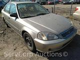 2000 Honda Civic Passenger Car, VIN # 1HGEJ6675YL045490