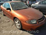 2004 Chevrolet Cavalier Passenger Car, VIN # 1G1JF12FX47116354