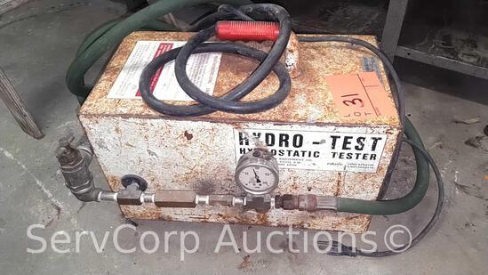 Hydro Test Hydrostatic Tester