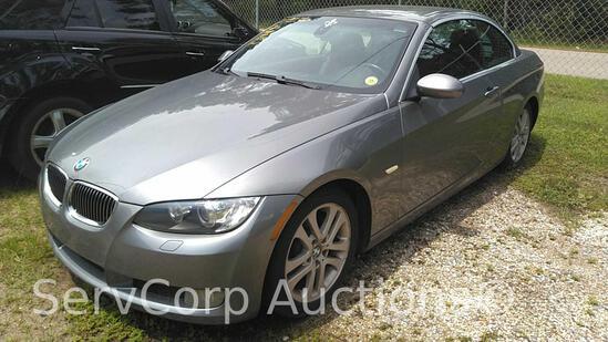 2009 BMW 3 series Convertible Passenger Car, VIN # WBAWL13539PX26810