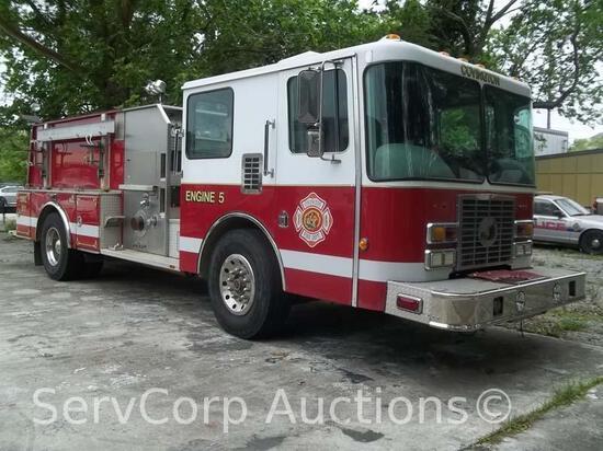 1993 HME Fire Truck VIN: 44KFT4288PWZ17717