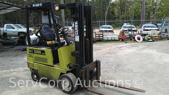 Clark GCX15E Forklift 2600 Capacity Serial: GX127E-0065-9347FB (Private Seller)