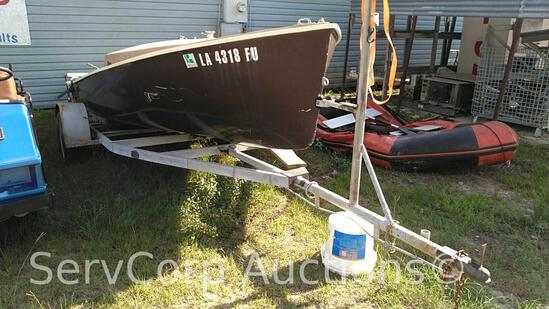 Abandoned Sail Boat with Trailer, No Paperwork, As Is (Private Seller)