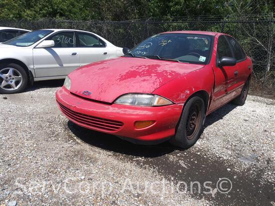 1999 Chevrolet Cavalier Passenger Car, VIN # 1G1JC5247X7321763