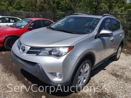 2014 Toyota RAV4 Multipurpose Vehicle (MPV), VIN # 2T3YFREV9EW127469