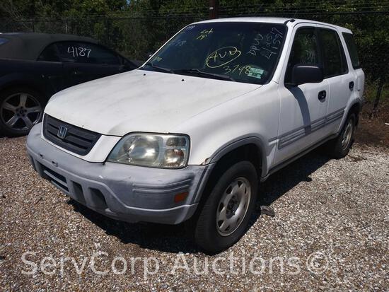 1999 Honda CR-V Multipurpose Vehicle (MPV), VIN # JHLRD2841XC022227