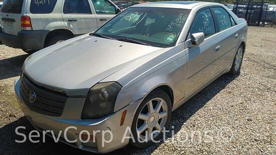 2005 Cadillac CTS Passenger Car, VIN # 1G6DP567250109665