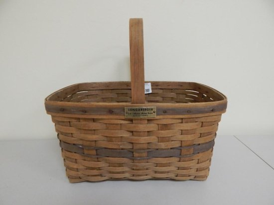 Longaberger J.W. Collection 1/12, Large Market Basket Series 10083
