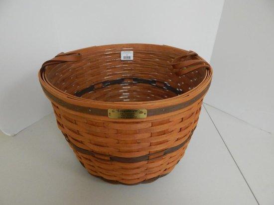 Longaberger J.W. Collection 9/12, 1991 Edition Large Corn Basket